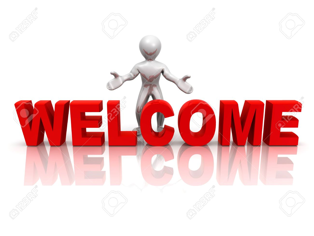 Men with text welcome 3d stock photo picture and royalty free men with text welcome 3d stock photo 5568493 buycottarizona Gallery