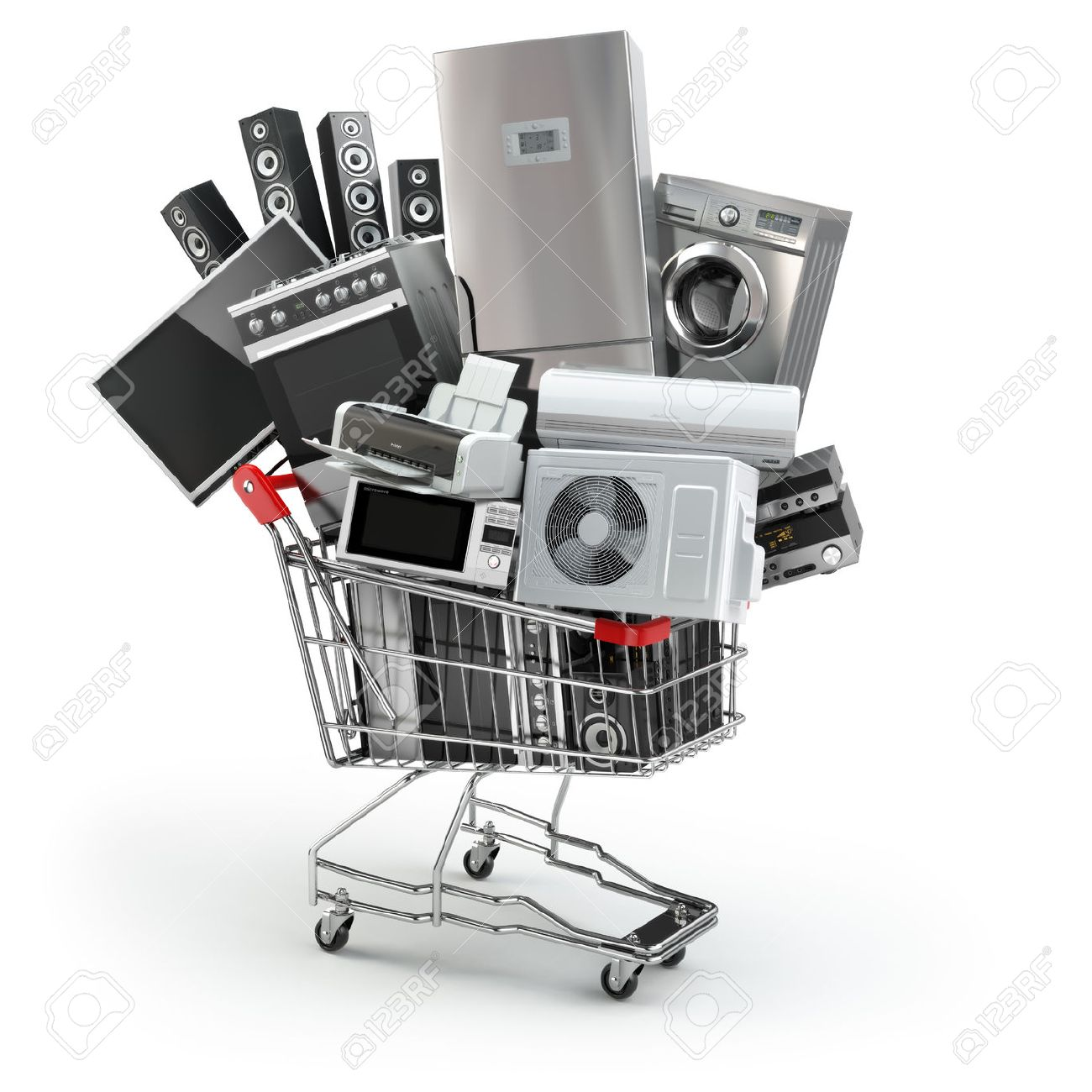 Uncategorized Home And Kitchen Appliances Online Shopping kitchen appliances set images stock pictures royalty free home in the shopping cart e commerce or online