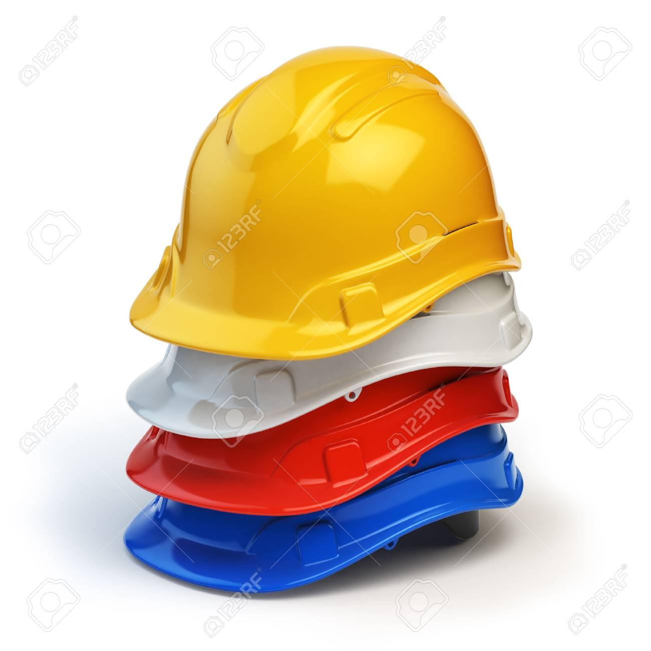 4b5712b05f8 Illustration - Various hard hats