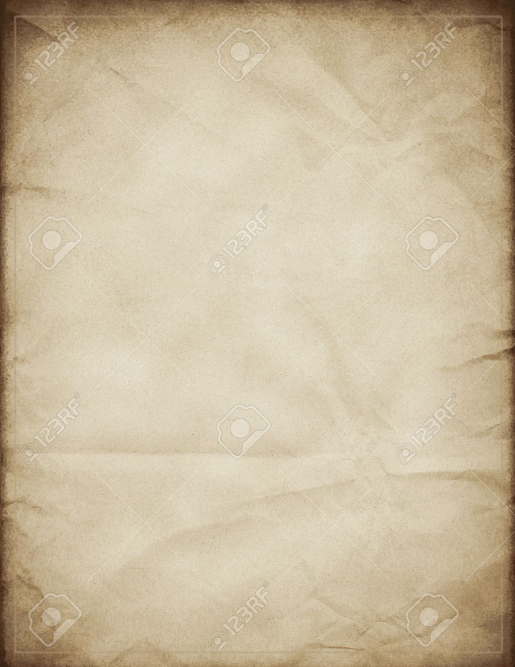 Old Paper Template Stock Photo, Picture And Royalty Free Image ...