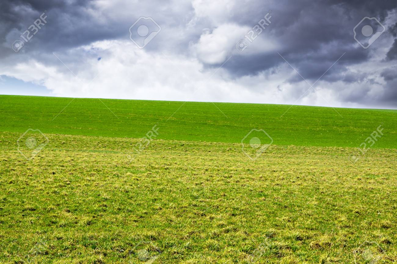 American Land with stormy sky Stock Photo - 12940567
