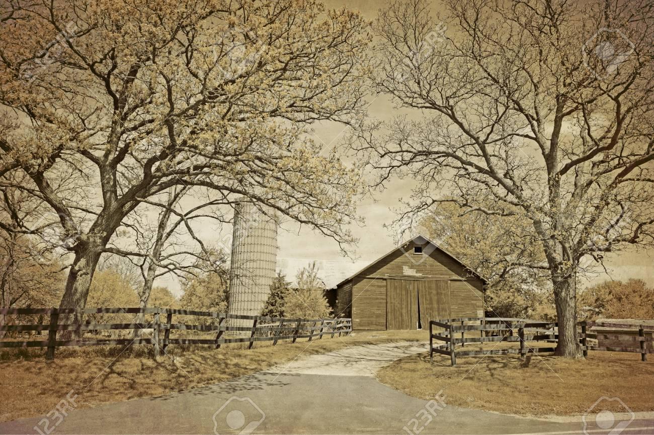American Countryside - Vintage Design - 13986036