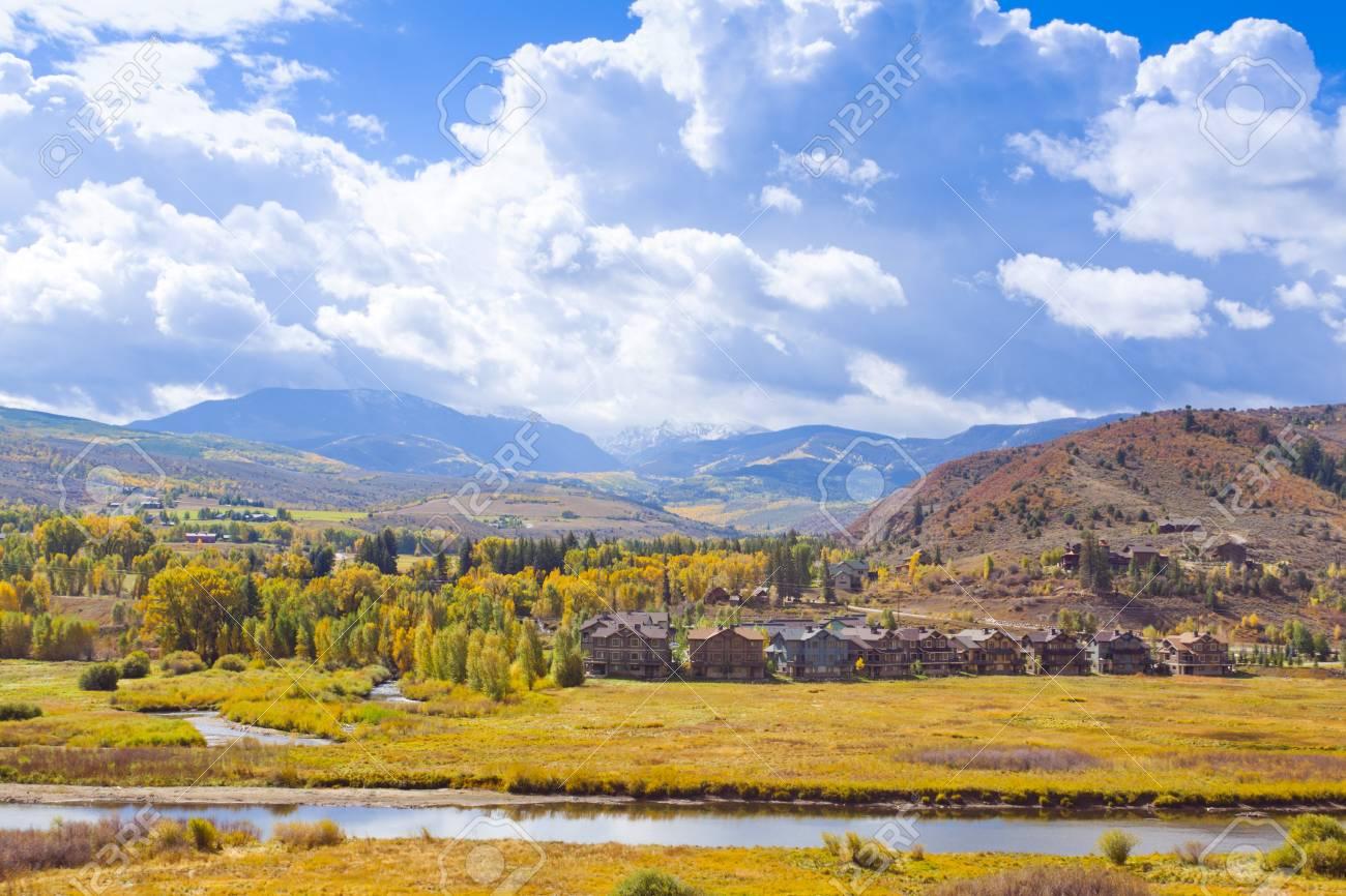 Alpine Lexury Homes Stock Photo - 14246942
