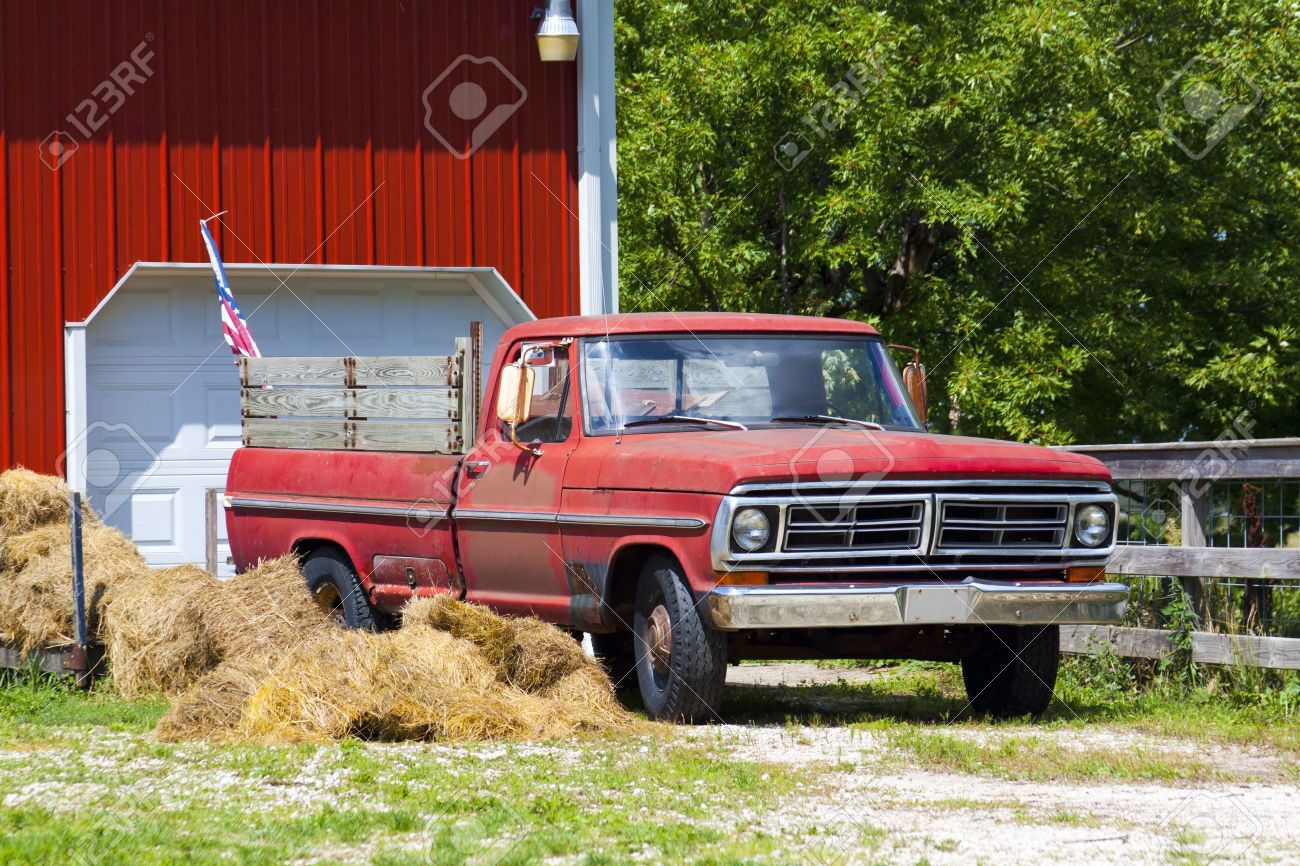 Old Pickup Truck Stock Photo Picture And Royalty Free Image