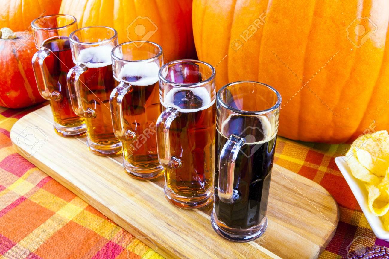 Beer Flight Stock Photo - 23356585