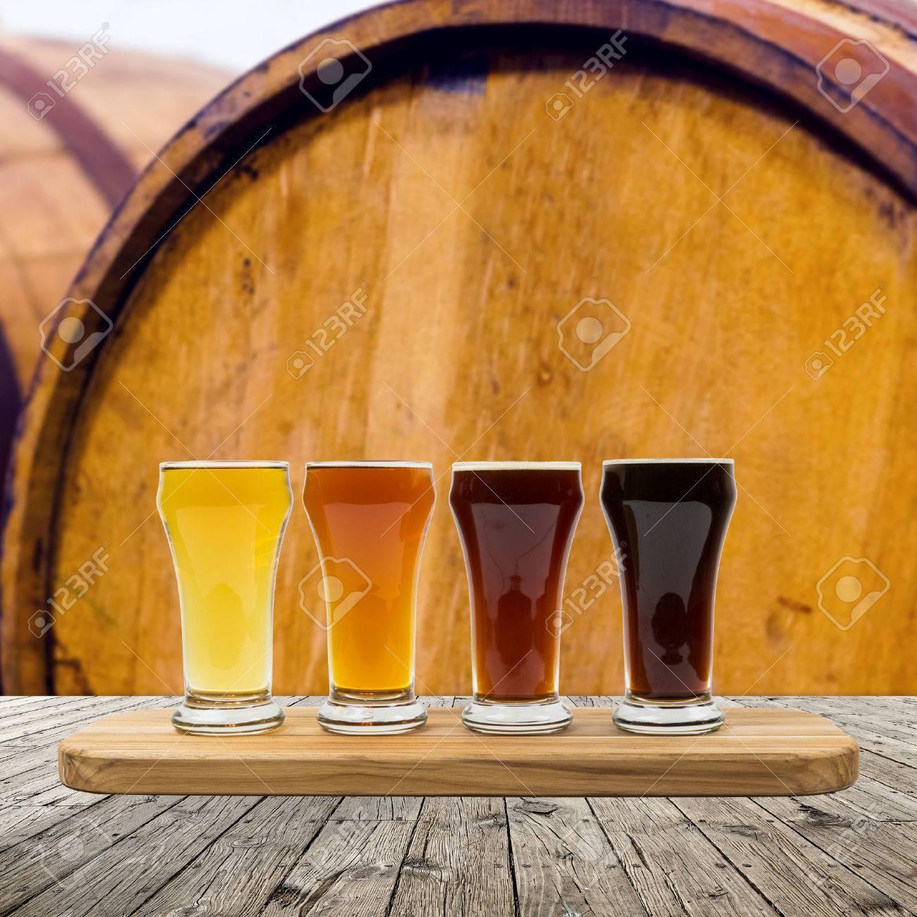 Beer Flight Stock Photo - 24945635