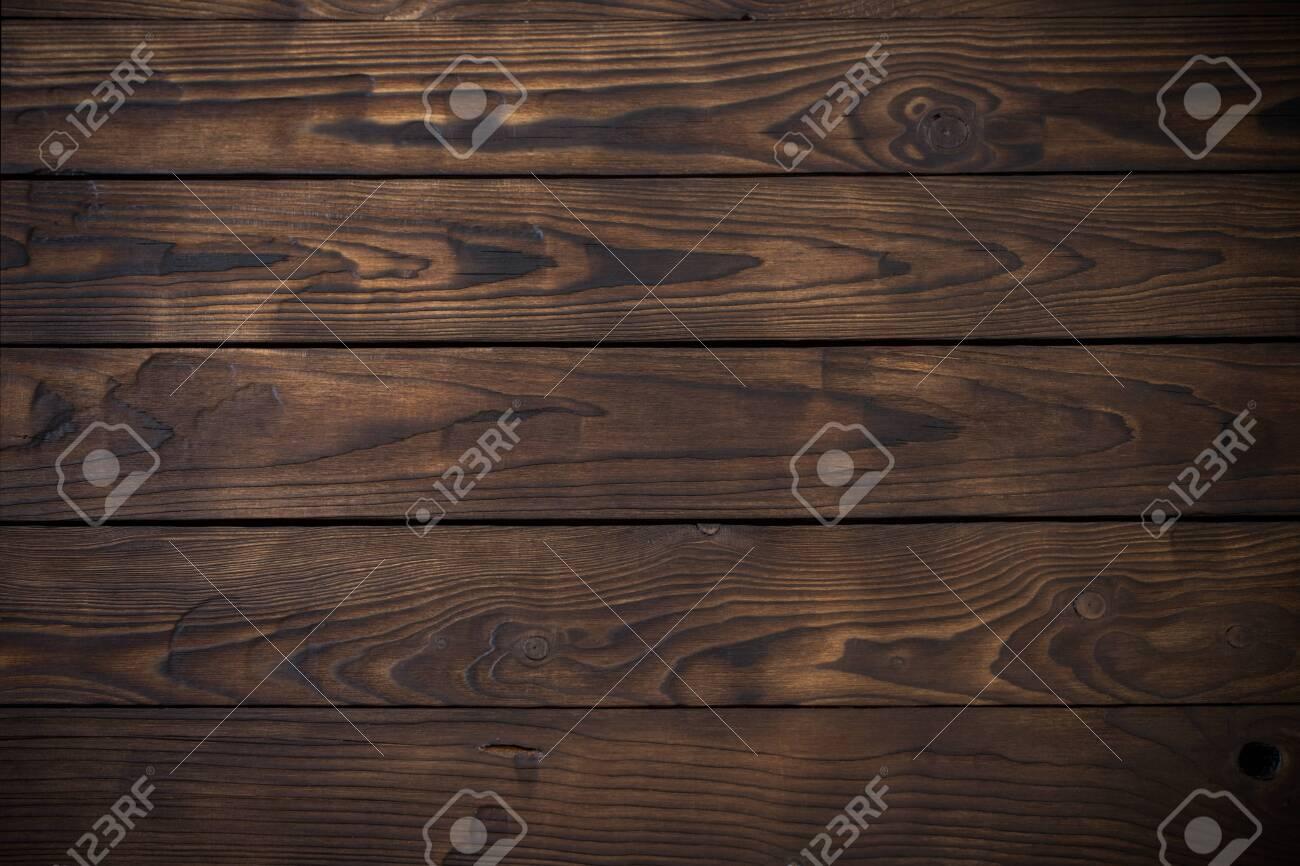 old wooden dark striped background - 146497073
