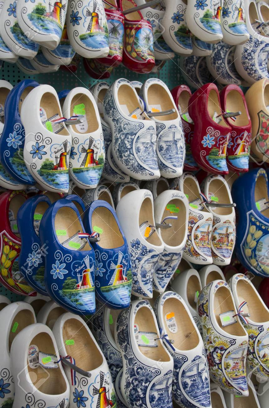 collection of wooden shoes stock photo picture and royalty free