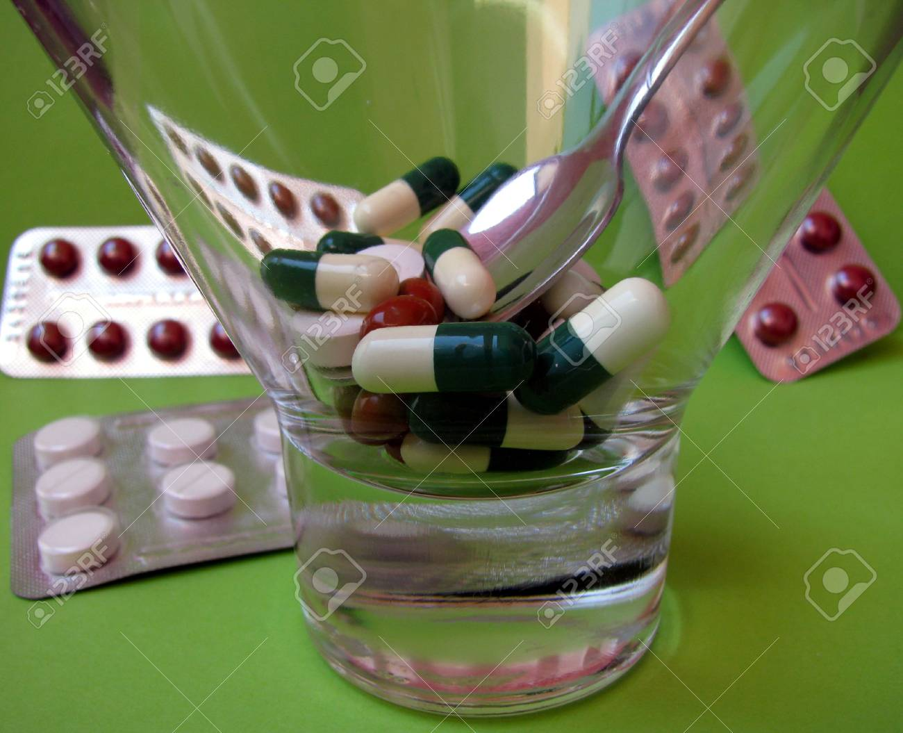 many pills Stock Photo - 3369271