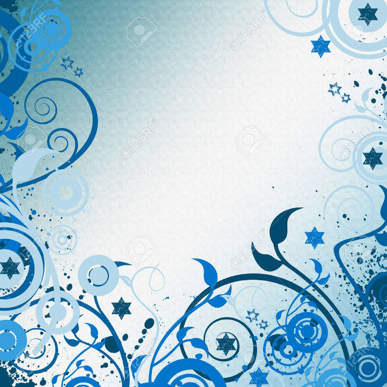 blue art Stock Vector - 4455579