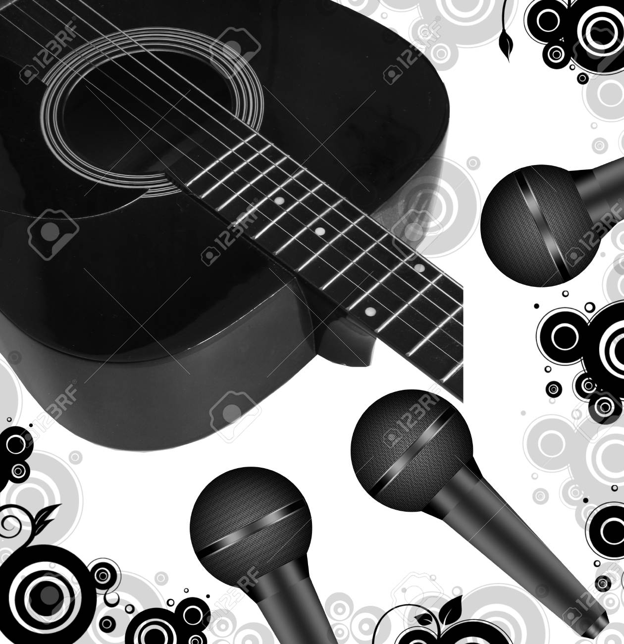 musical background Stock Vector - 4800701