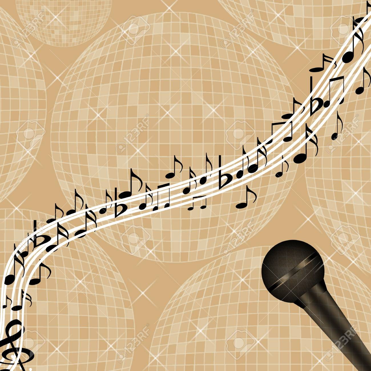 Time for music Stock Vector - 5081213
