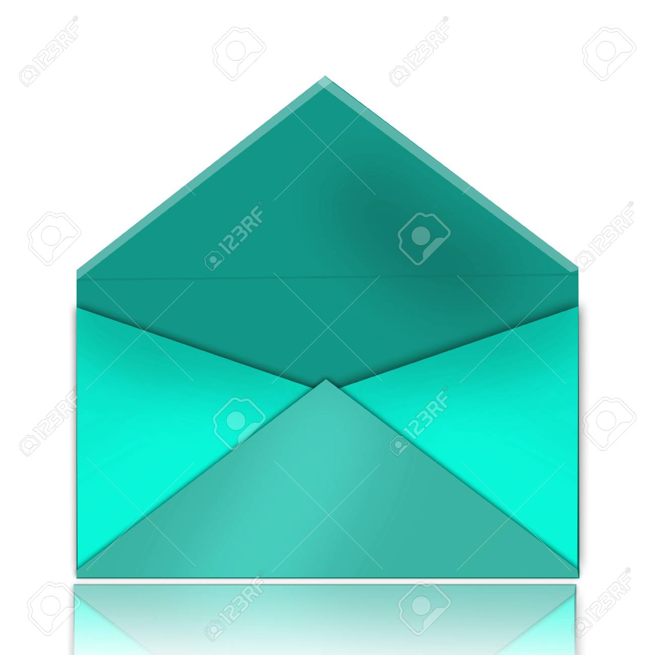 blue envelope Stock Photo - 9043563