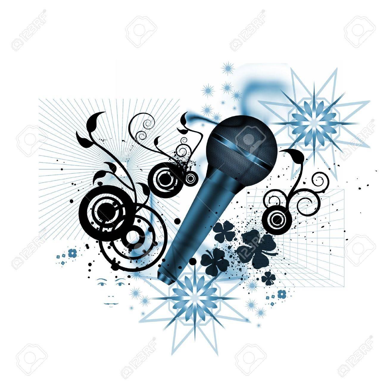 music concept Stock Photo - 9560376