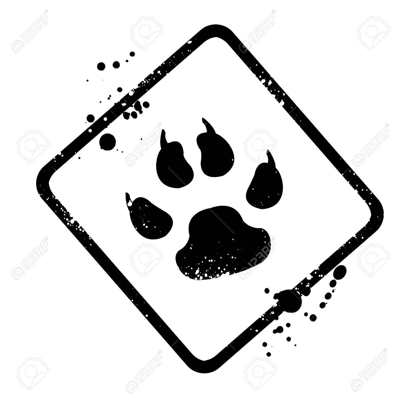 animal footprints stock photo picture and royalty free image