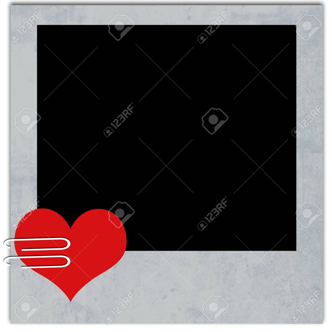 love photo frame Stock Photo - 12635356