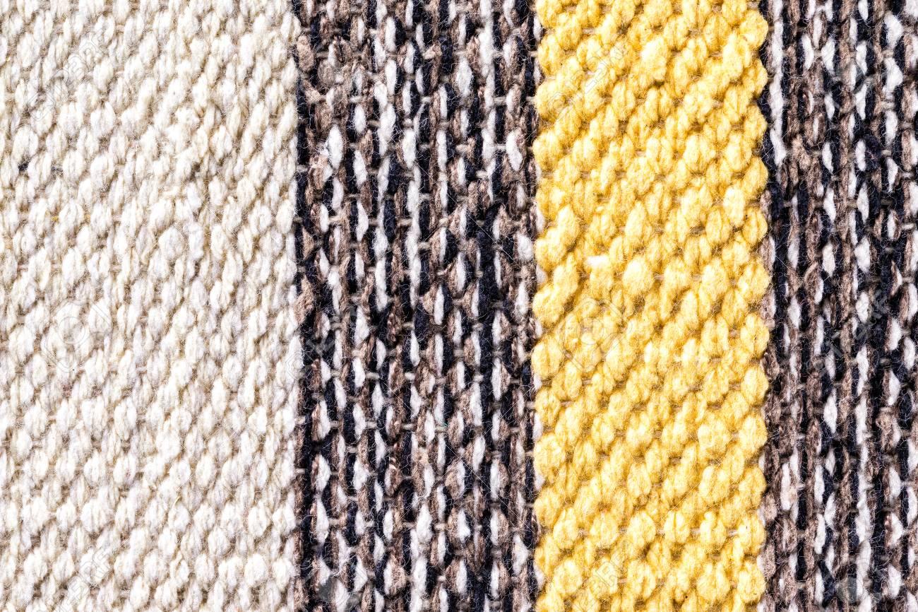 Closeup Image De Tapis Indien Colore Comme Un Fond Textile