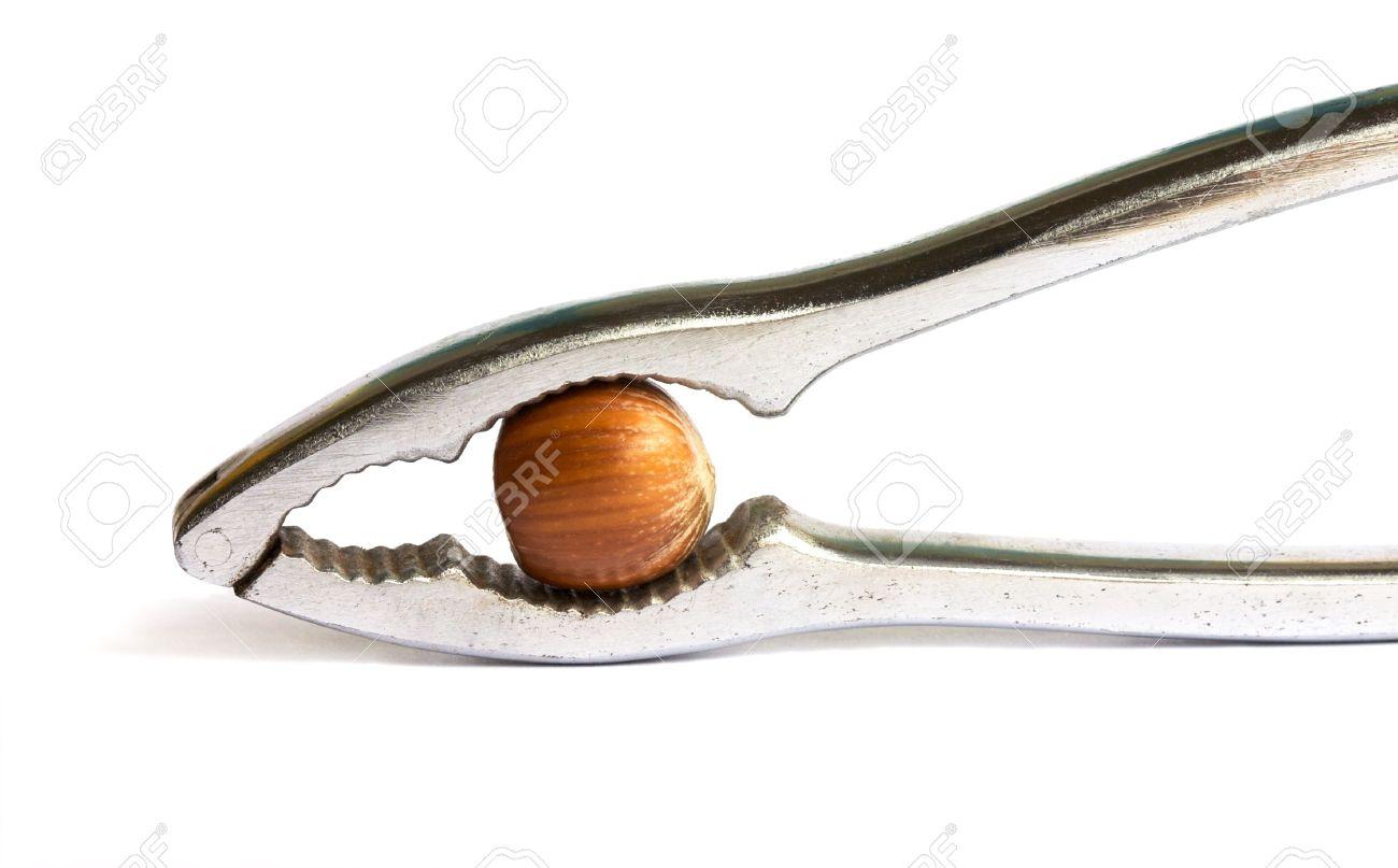 4148147-metal-nutcracker-with-a-hazelnut