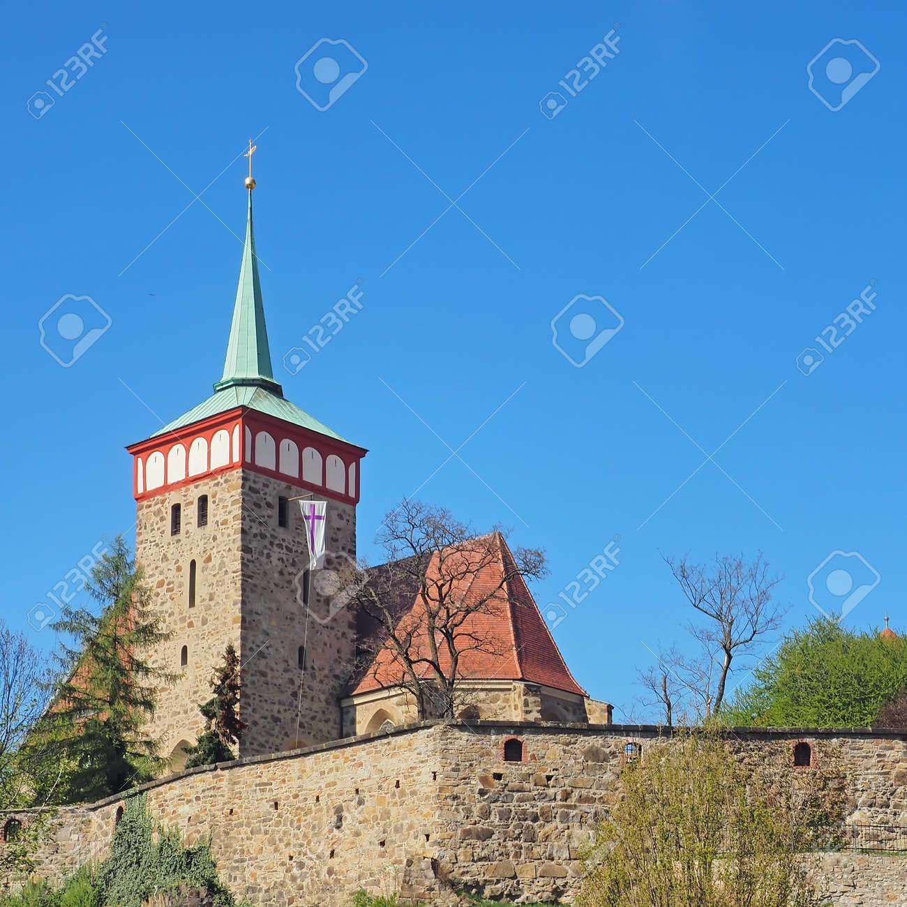 Church of St. Michael in city Bautzen, Saxony, Germany - 151902396