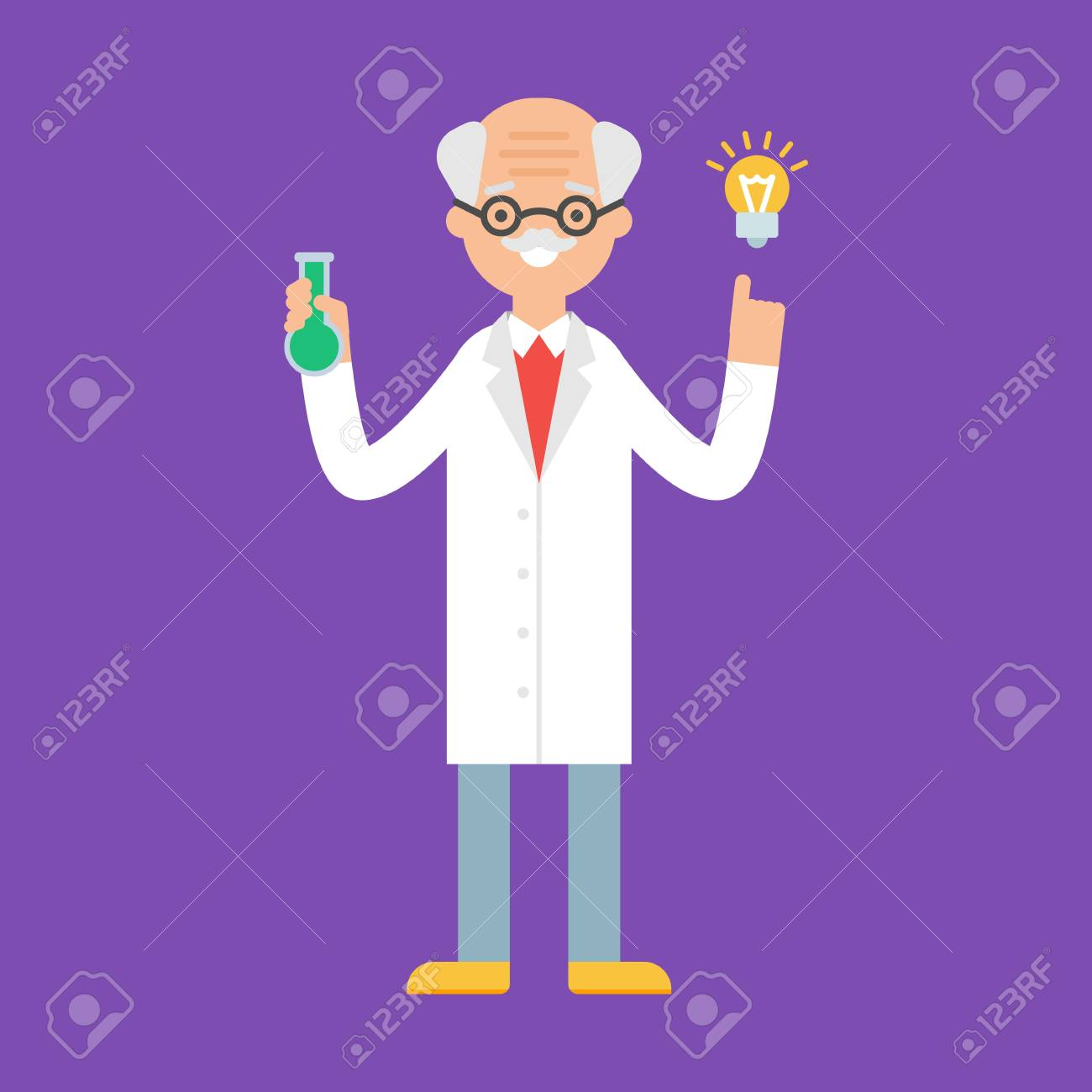 scientist vector illustration royalty free cliparts vectors and stock illustration image 56581708 scientist vector illustration