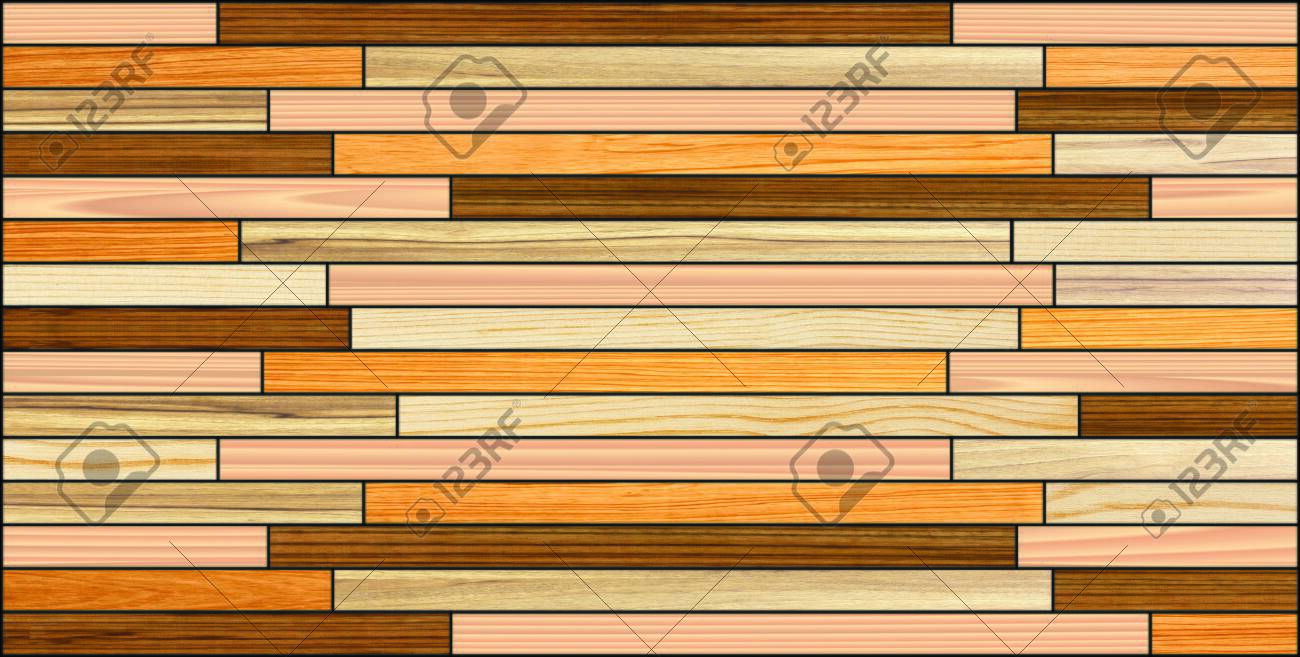 Wood Plank Wall Decor Background Texture Wooden Strips In Wall Stock Photo Picture And Royalty Free Image Image 145973233