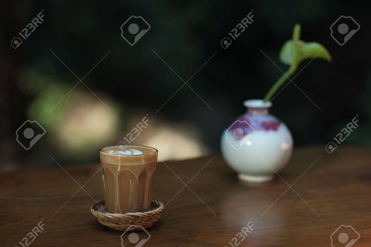 Piccolo Latte is a coffee menu for people who are bored with regular lattes and want to try a new menu of coffee with milk. - 168610096