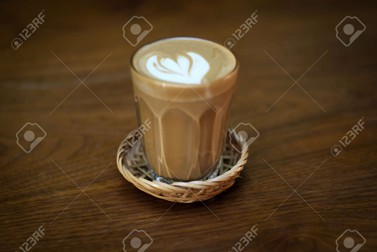 Piccolo Latte is a coffee menu for people who are bored with regular lattes and want to try a new menu of coffee with milk. - 168610098
