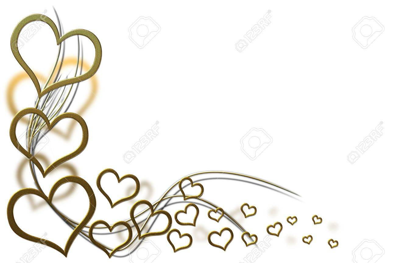 valentines day background for your designs with golden hearts and swirls stock photo 17316038 - Valentines Designs