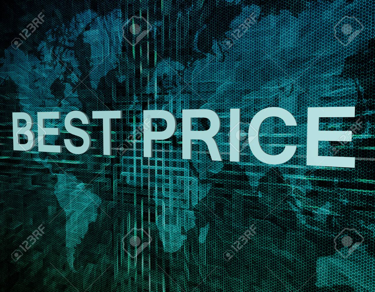 Best price text concept on green digital world map background stock best price text concept on green digital world map background stock photo 31533423 gumiabroncs Images