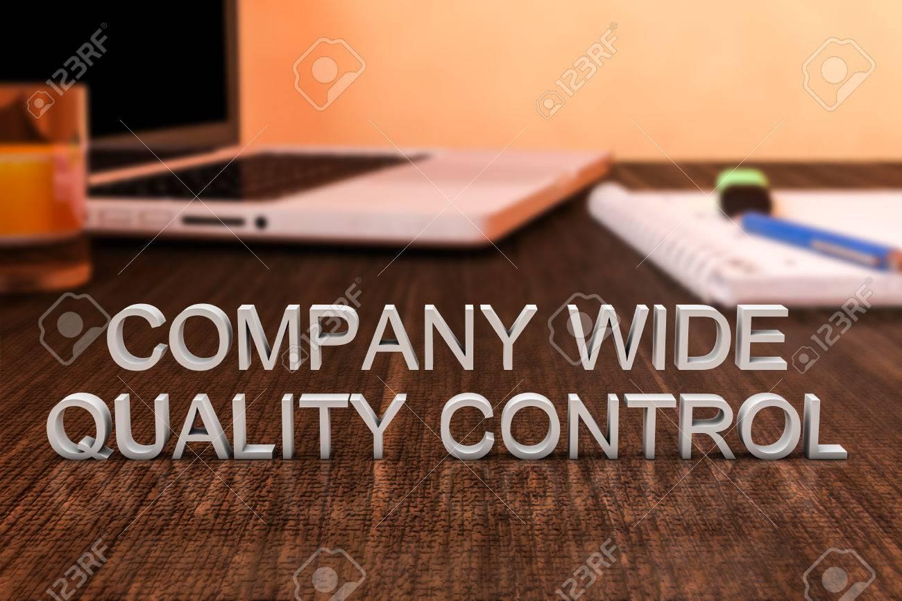 Société de contrôle large de la qualité des lettres sur le bureau