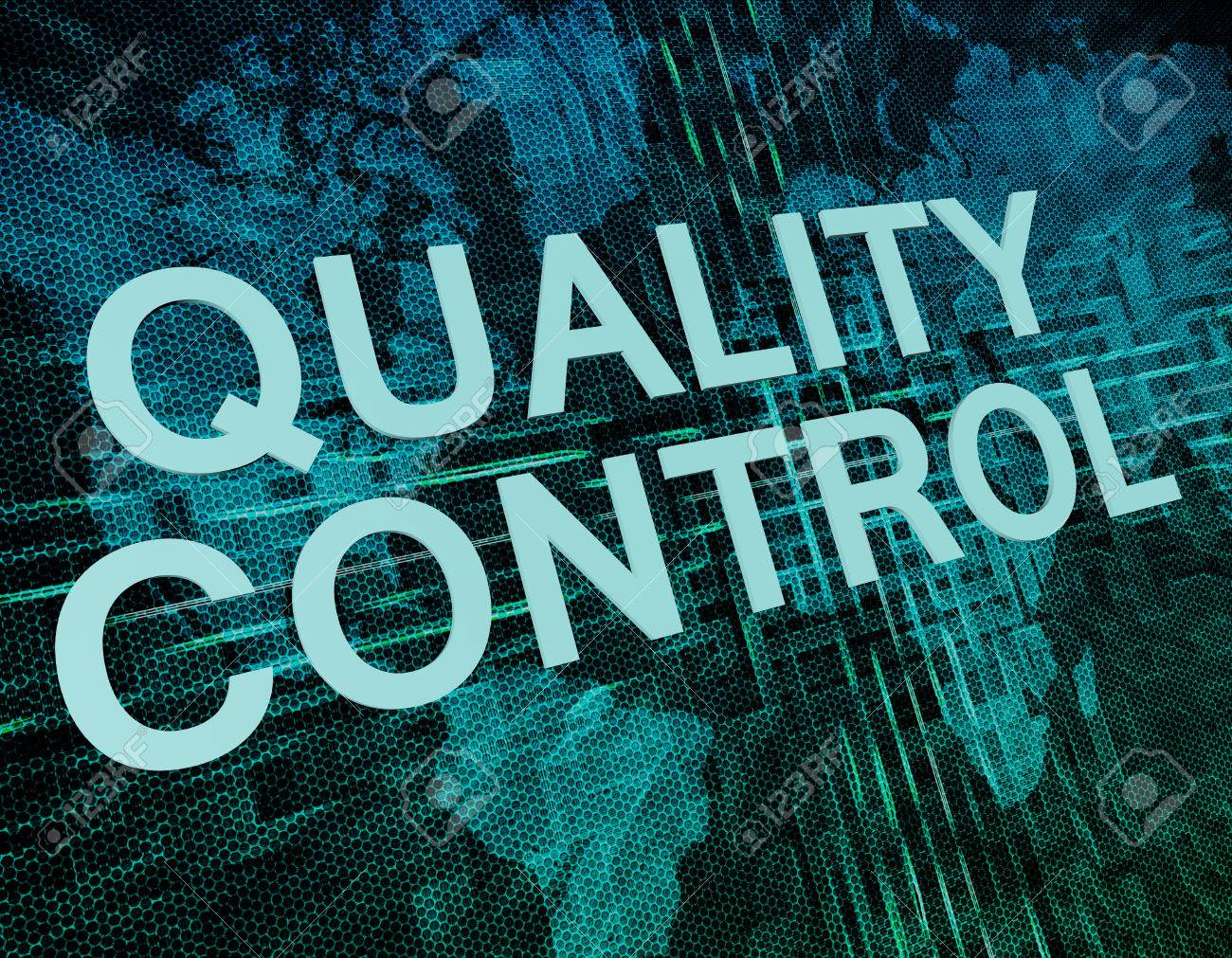 Quality control text concept on green digital world map background quality control text concept on green digital world map background stock photo 45470795 gumiabroncs Images