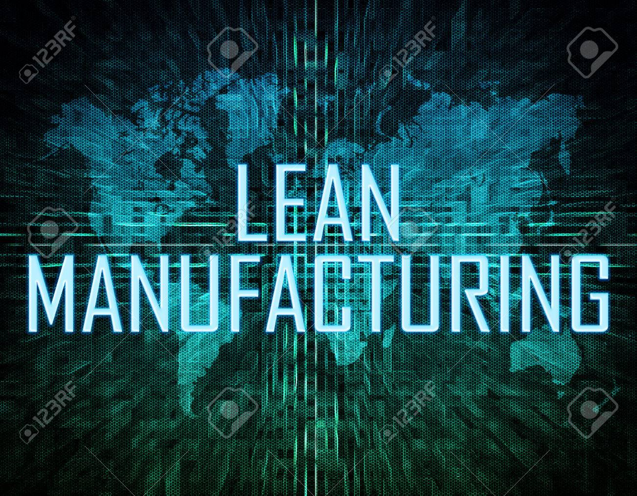 Lean manufacturing text concept on green digital world map lean manufacturing text concept on green digital world map background stock photo 46264942 gumiabroncs Images