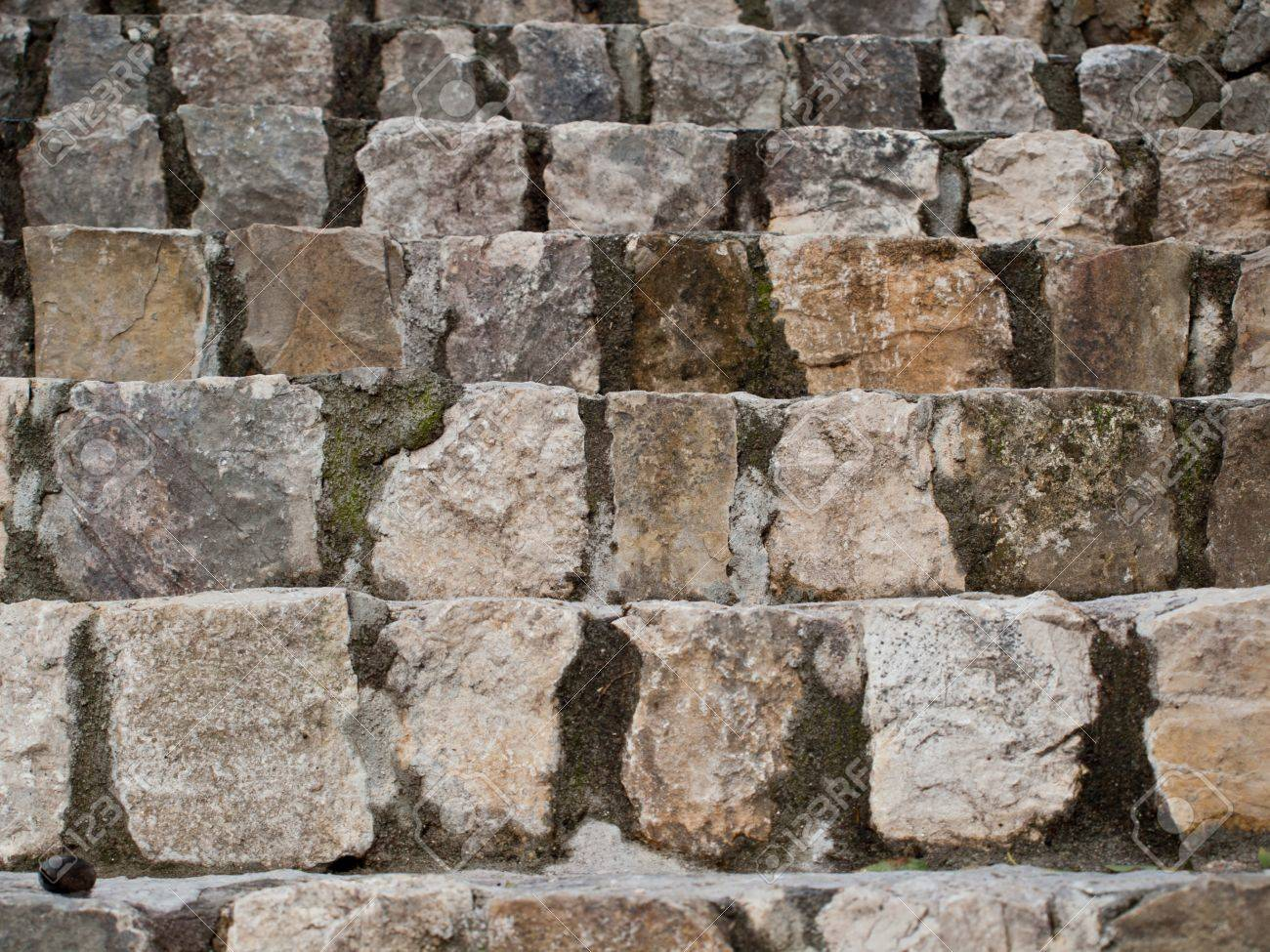 Old stone stairs in Croatia Stock Photo - 14409084