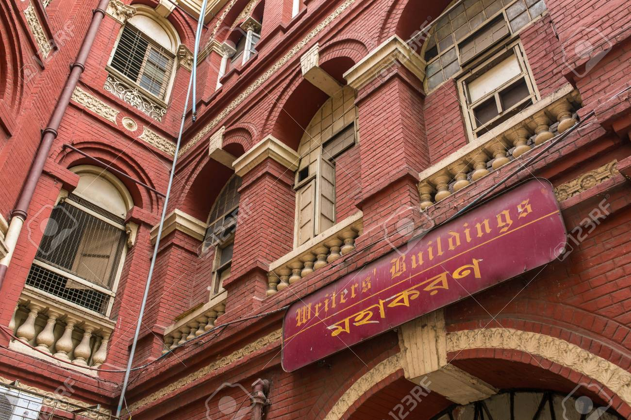 Kolkata, India - April 8, 2017: The Writers building at Dalhousie