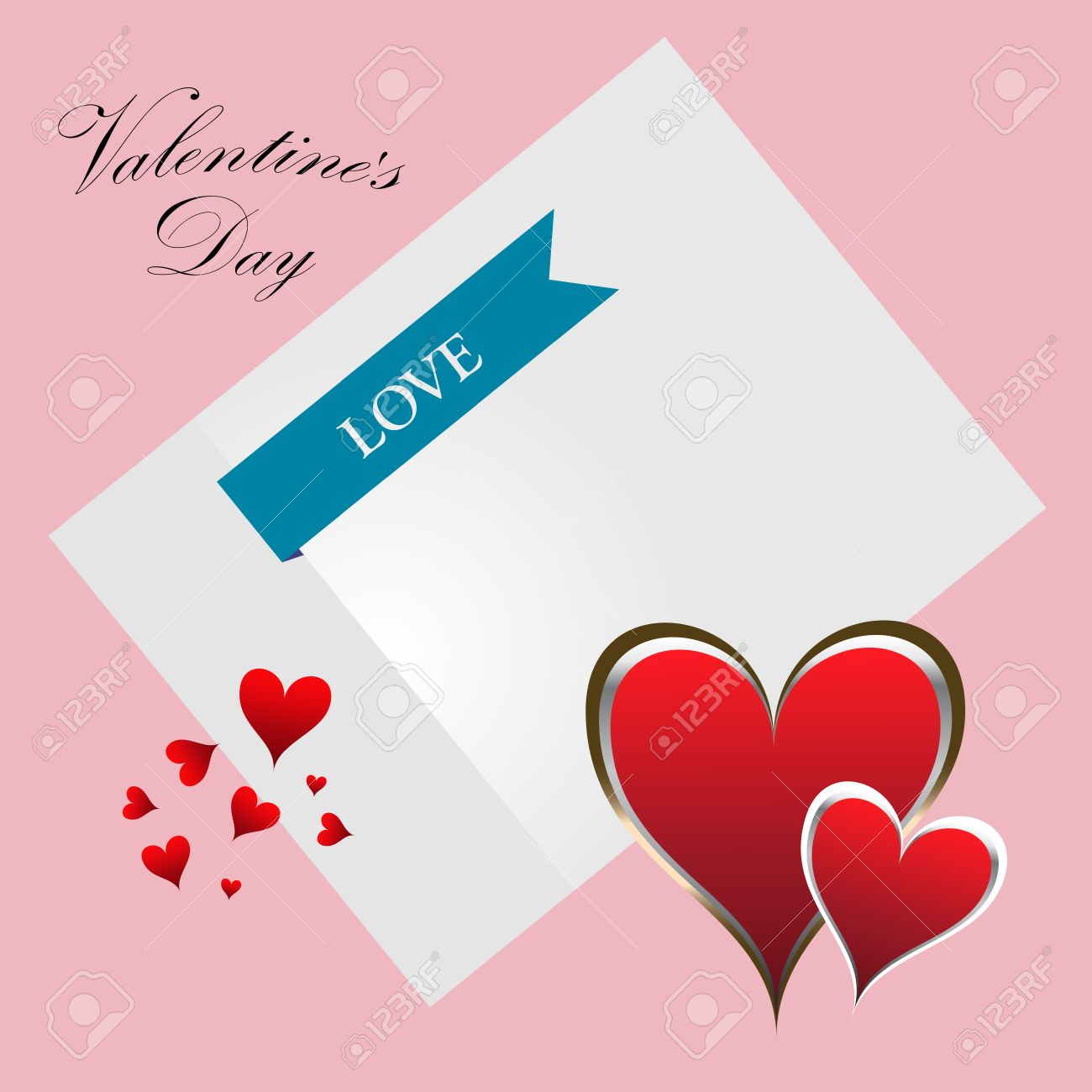 Love Letter Mail Valentines Day Flyer Valentines Day Card