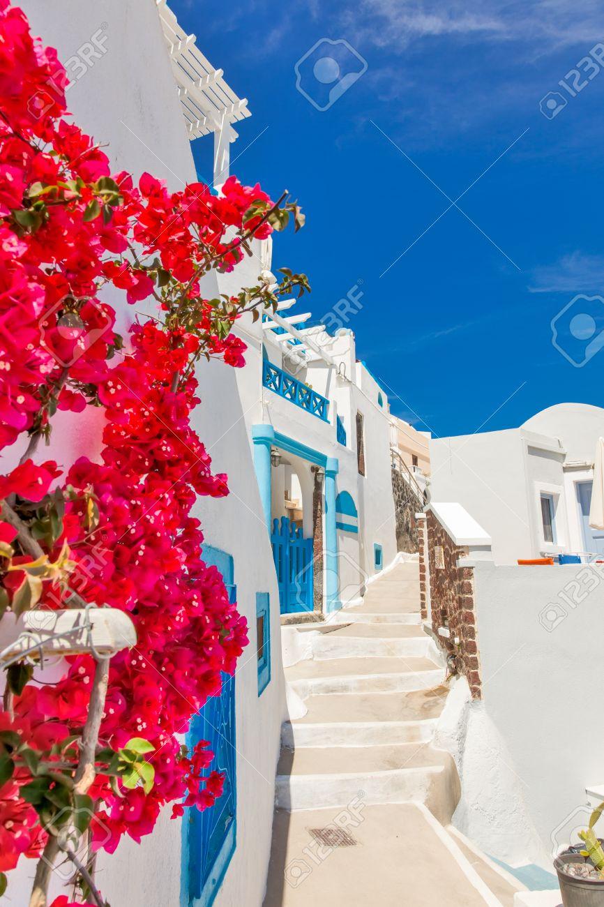 Grecia Isla De Santorini En Las Cícladas, Más Bonitas Y ...