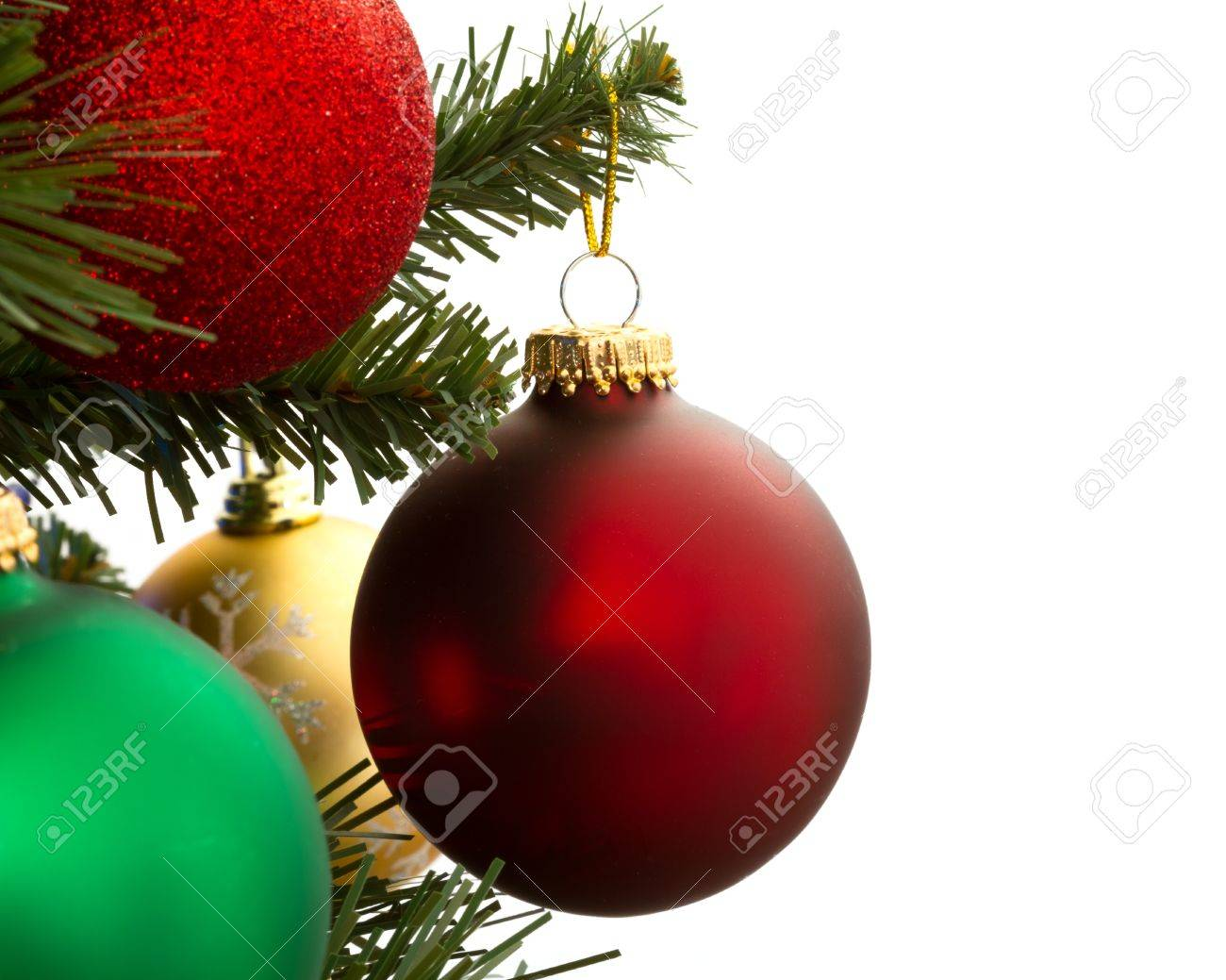 christmas decoration with space for text Stock Photo - 13367143