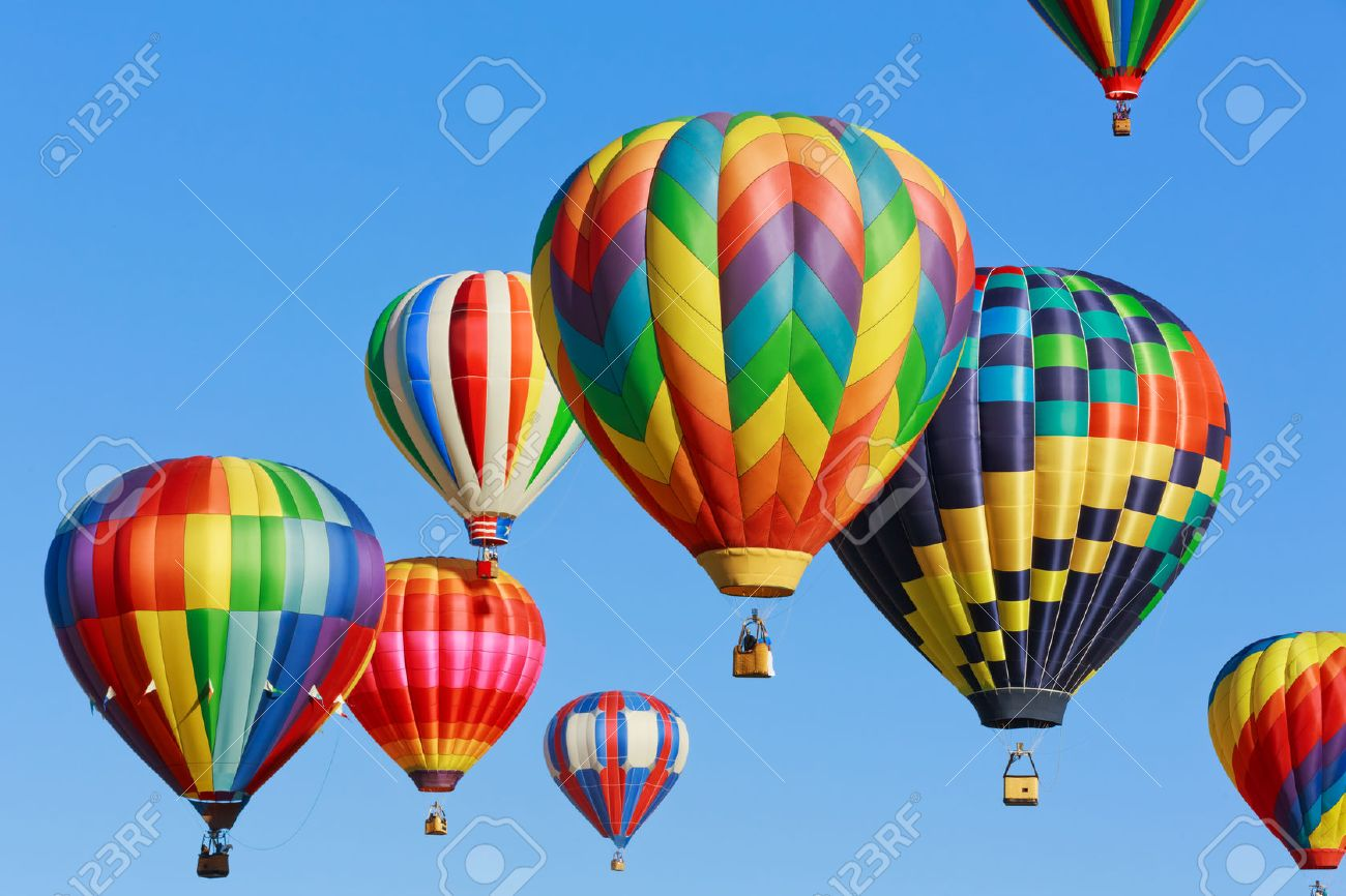 - Colorful Hot Air Balloons Stock Photo, Picture And Royalty Free