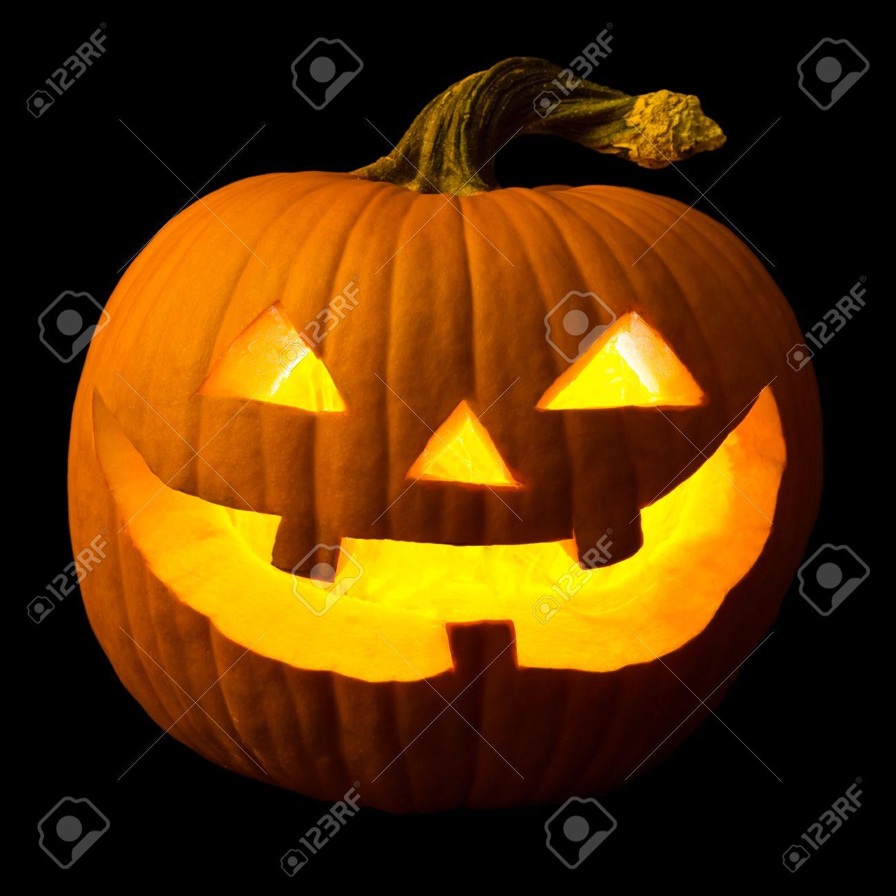 Bevorzugt Halloween Kürbis Gesicht Lizenzfreie Fotos, Bilder Und Stock NZ94