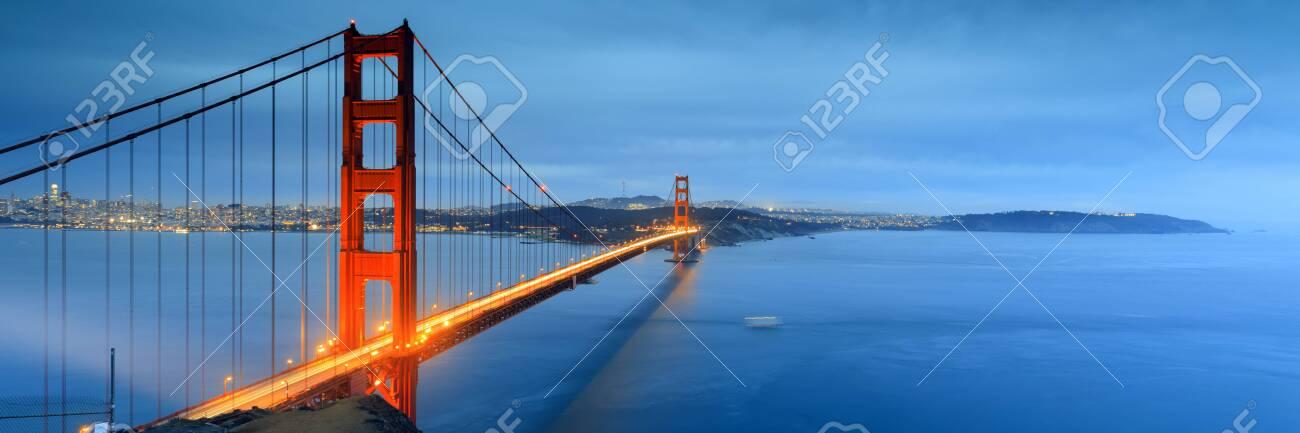 Golden gate bridge in san francisco - 123050923
