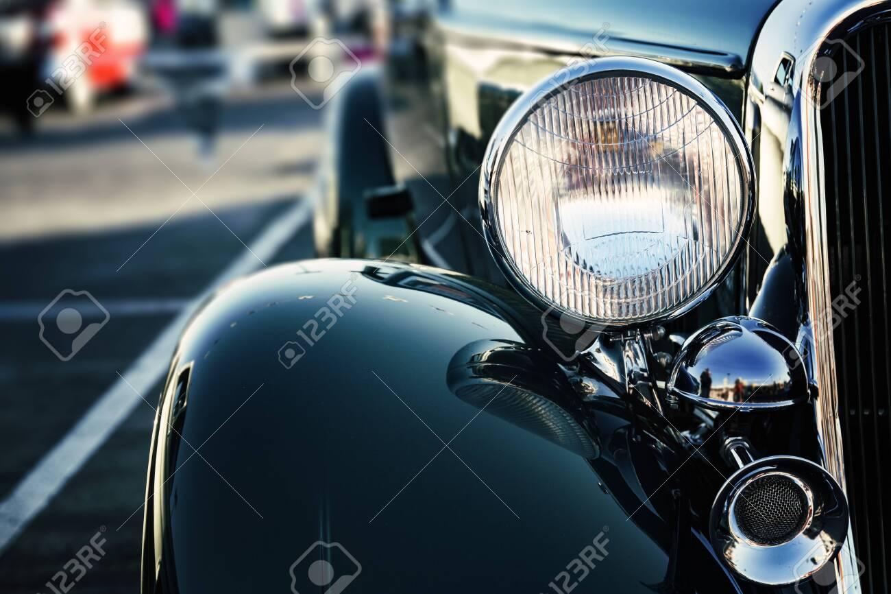 Classic American car - 124042941