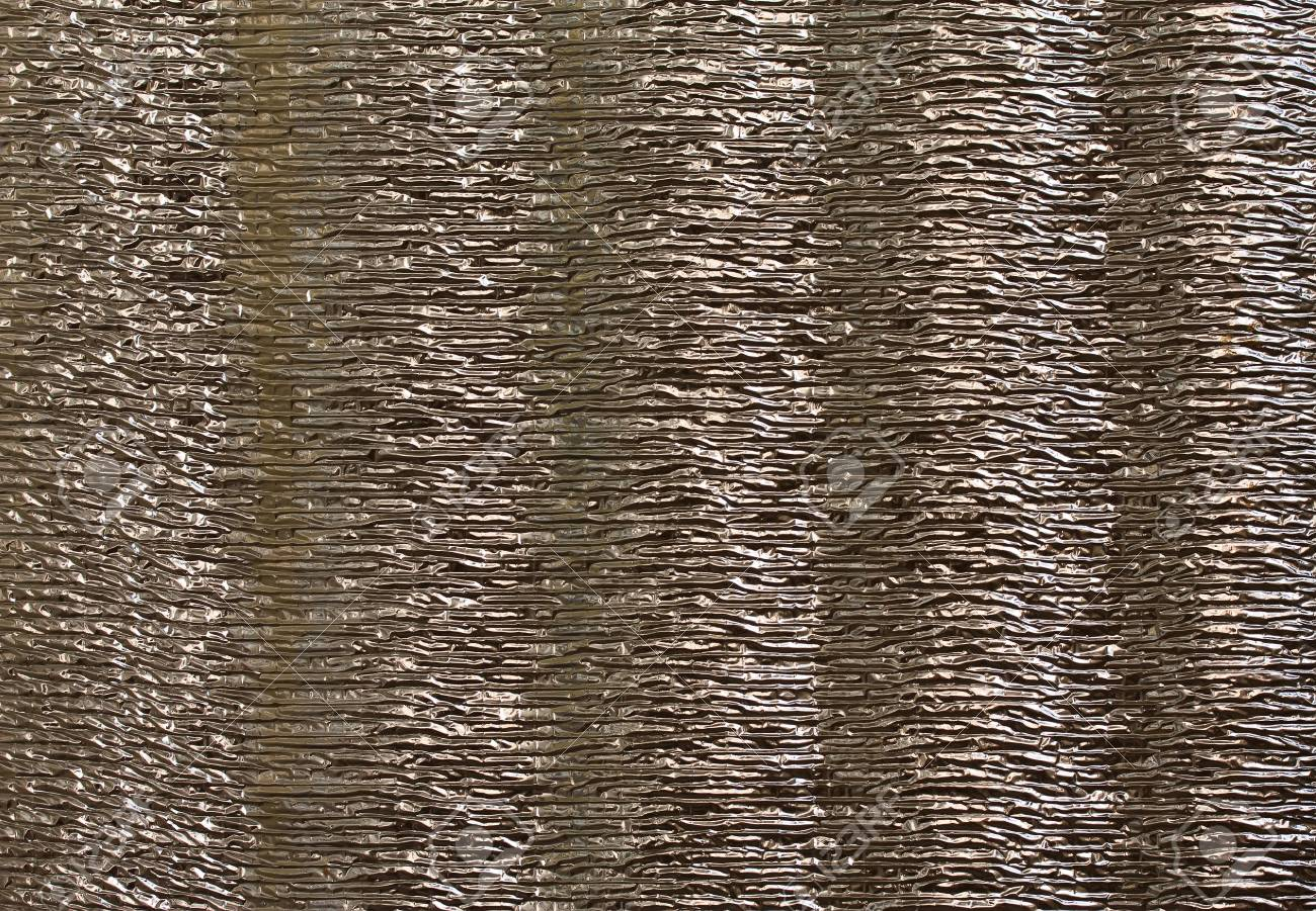 Aluminium corrugated foil abstract background Stock Photo - 9824528