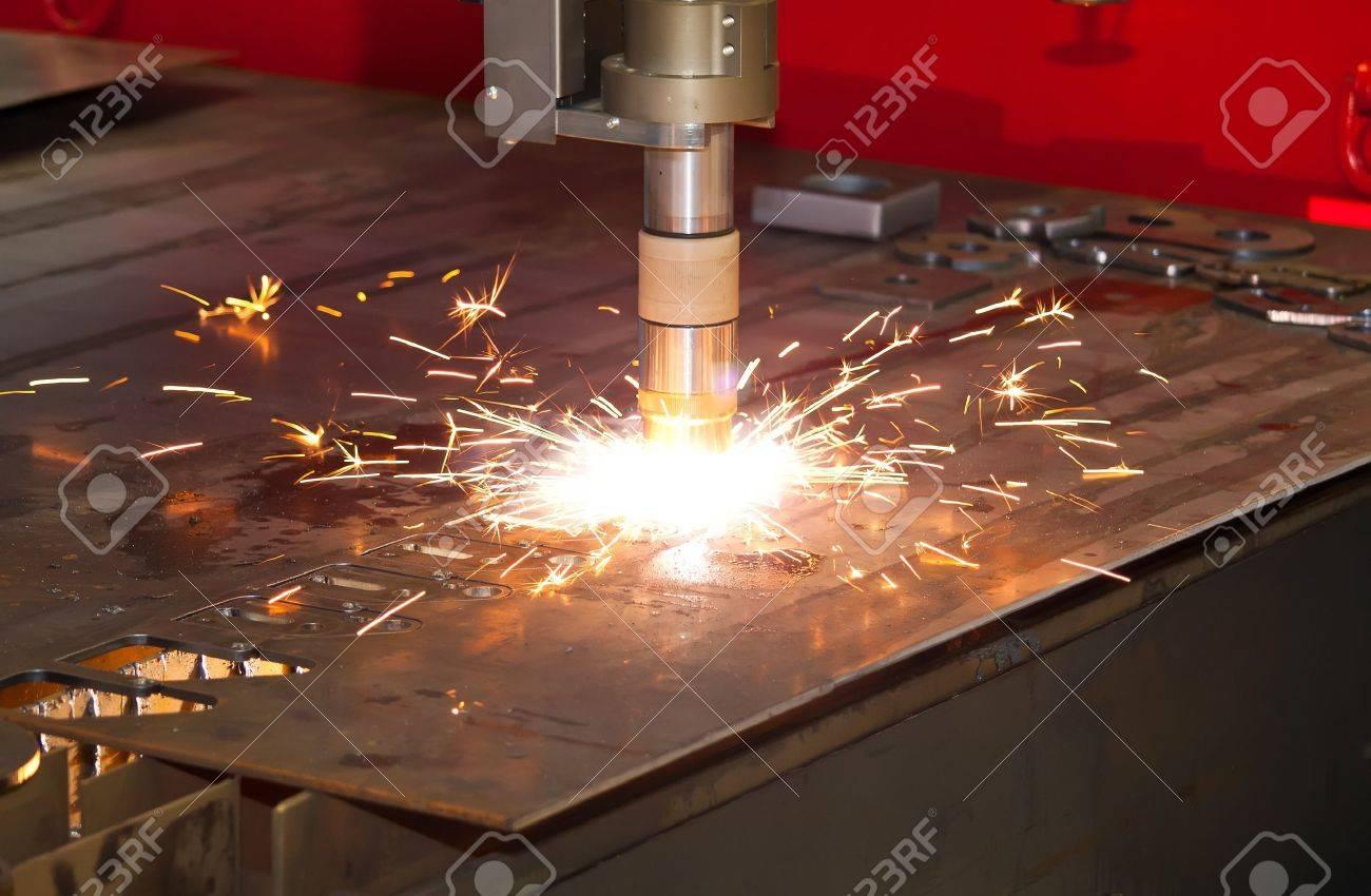 De Metal De Corte Por Plasma De Precisión Industrial CNC Fotos ...