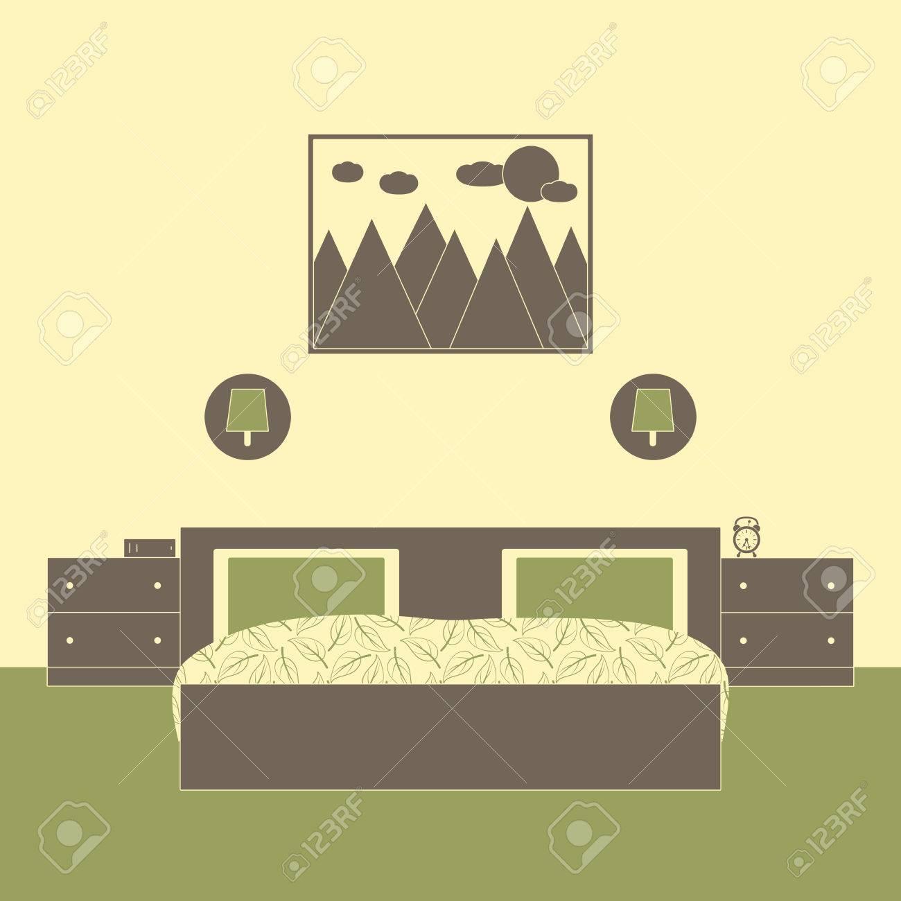 Lampade muro camera da letto: metà degli interni camera da letto ...