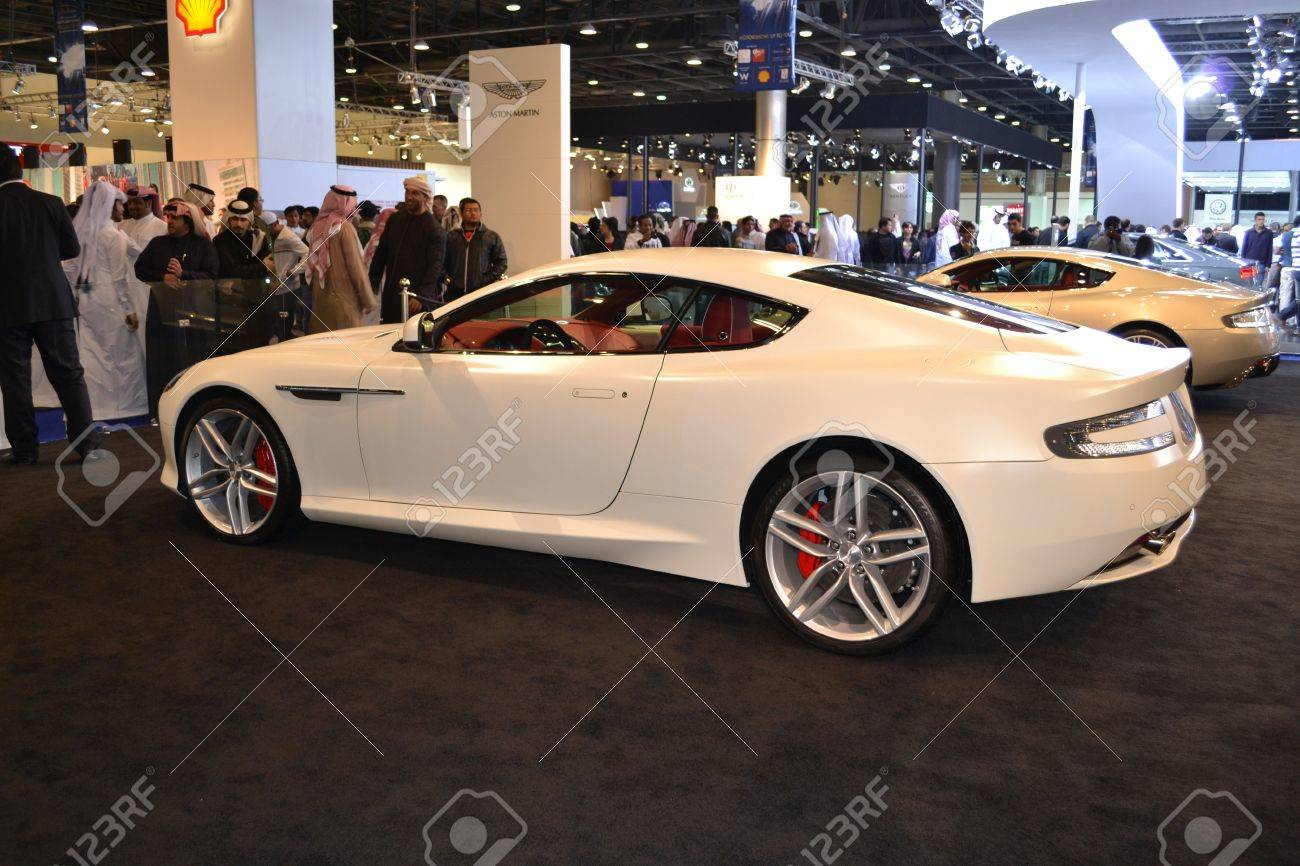 Aston Martin At Qatar Motor Show Second Exhibition On The 25th