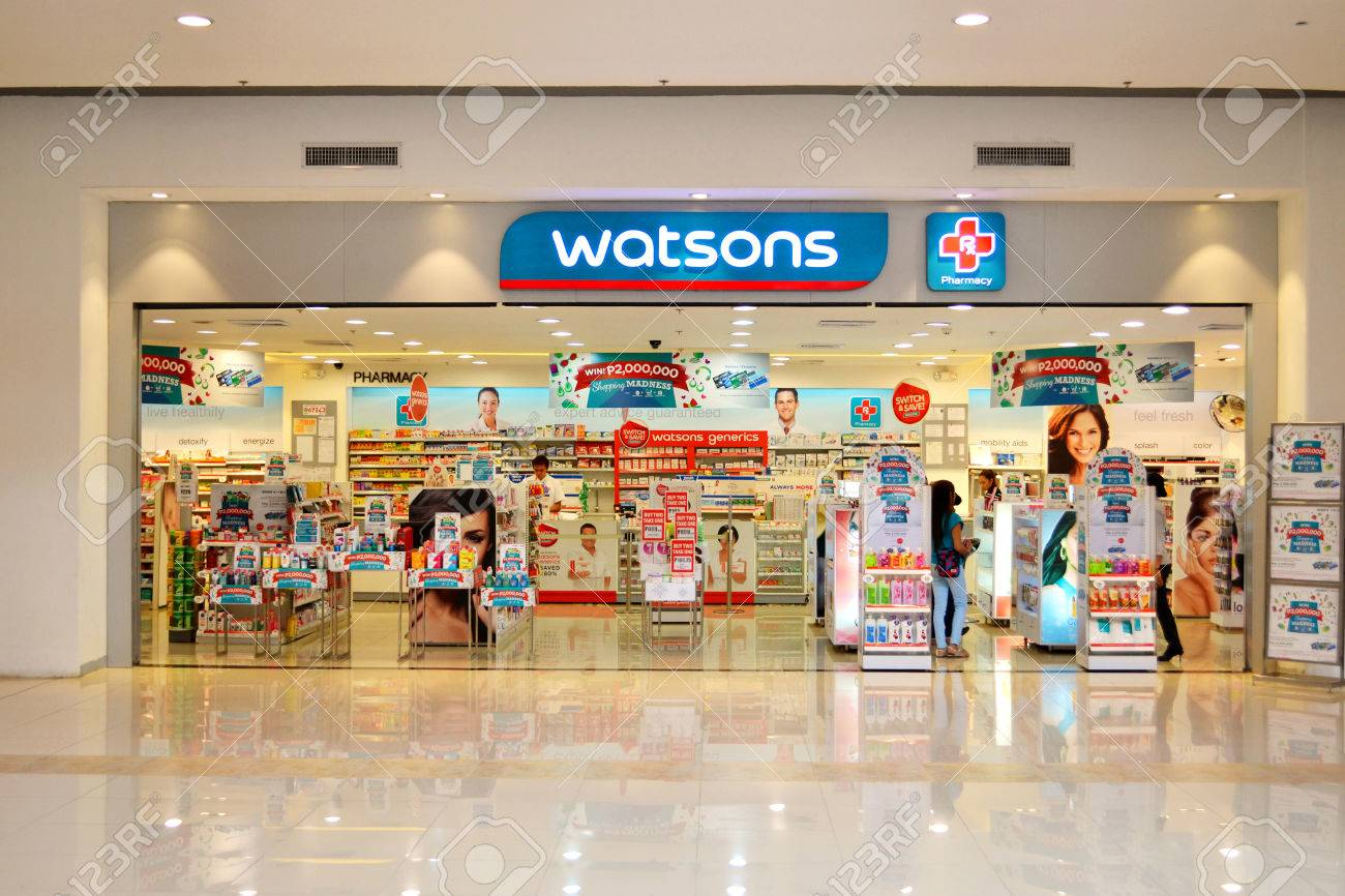 Watsons personal care store is one of the most famous health & beauty care stores in the far east since 1828. Stock Photo - 36606990