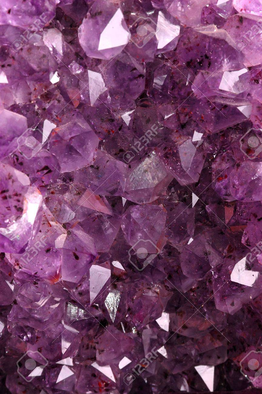 Texture from natural amethyst Stock Photo - 5621483