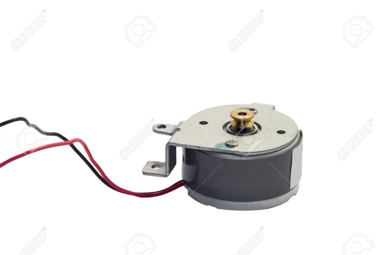 Astounding Direct Current Dc Electric Motor With Wires Against White Wiring Digital Resources Kookcompassionincorg
