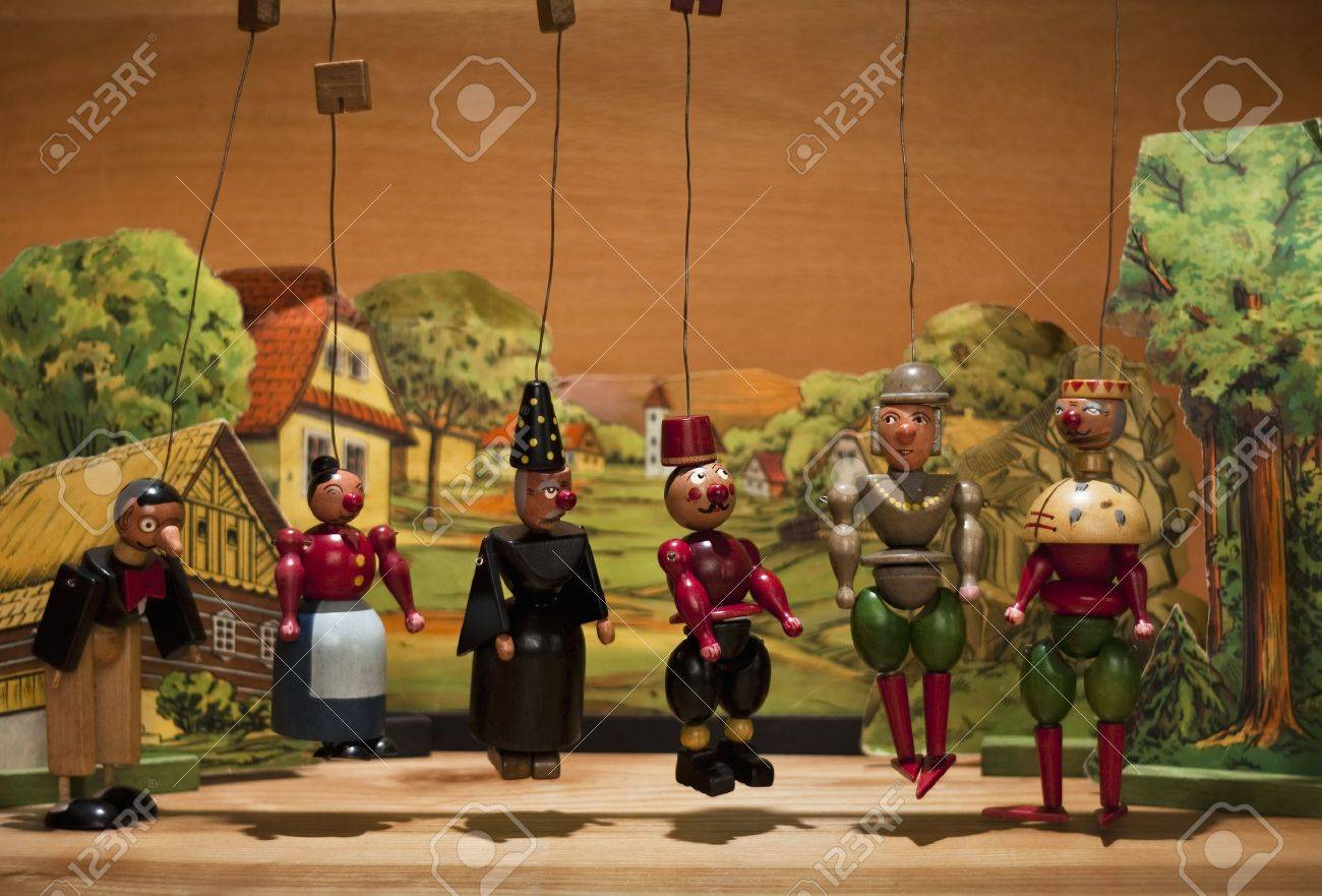 Old wood marionettes Stock Photo - 7445418