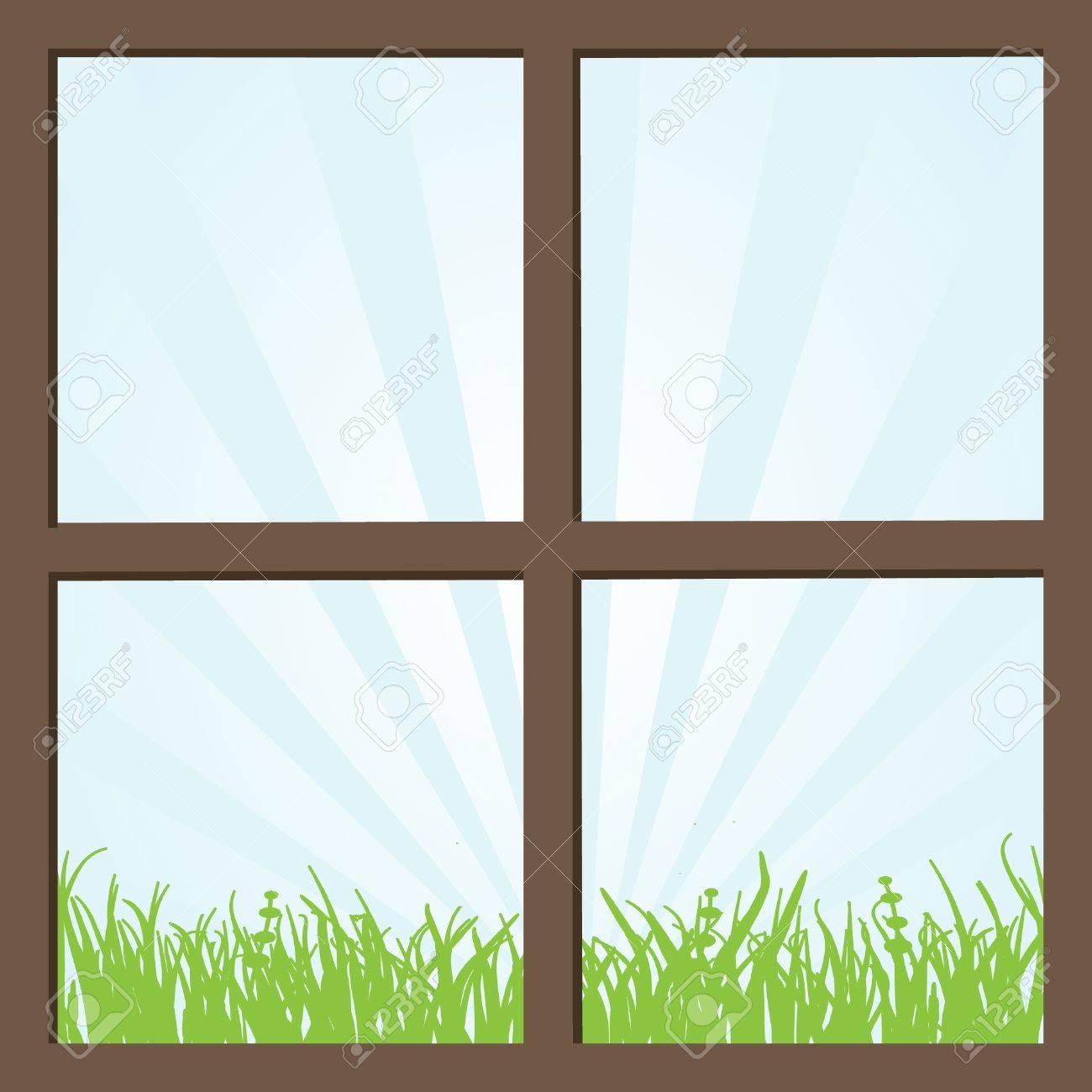 Window Stock Vector - 7706987